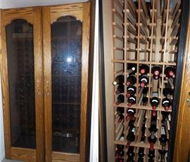 600 bottle wine cooler