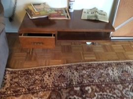 REALLY COOL LANE MID CENTURY 3 LEG COFFEE TABLE