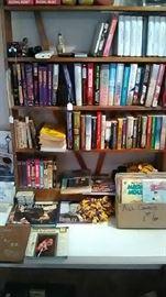 BOOKS...VHS...COMICS..STUFF