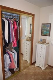 WHite armoire not for sale