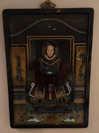 Very nicely executed, well framed Chinese ancestral portrait.