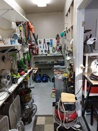 Fun tool room!