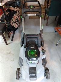 Here ya go: the EGO Power+ Mower, 56V, Model LM2100.