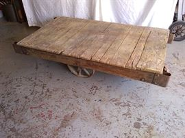 The Brunswick -Industrial Cart-Great for projects!