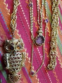 We have two Owl Necklaces....