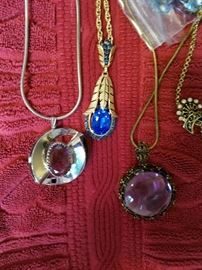 Contemporary and Vintage Necklaces