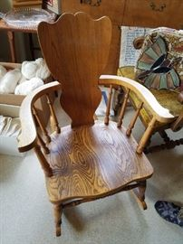 This is a sweetie Vintage Rocking Chair