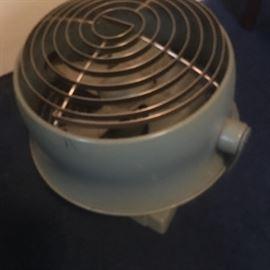 Vintage oscillating floor fan