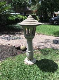 Concrete Japanese Lantern