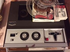 Craig Reel to Reel Tape Recorder.