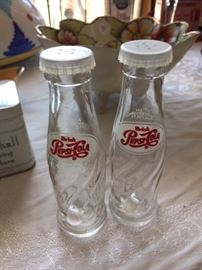 Pepsi Salt and Pepper Shakers.