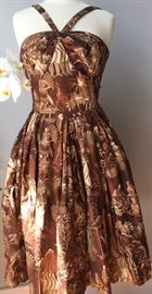 Beautiful Vintage Tiki Dress