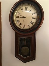New Haven Regulator style clock