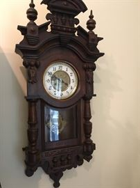 Vienna Regulator style clock