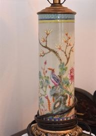 Chinese / Asian Porcelain Table Lamp