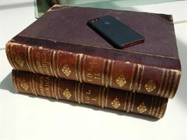 PICTURESQUE AMERICA PUBLISHED 1874 2 VOLUME SET IN MONUMENTAL SIZE