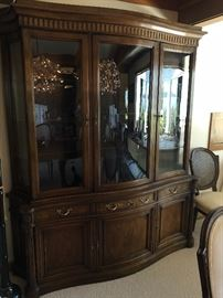 another view of the china or display cabinet