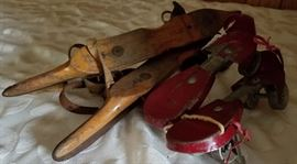 Antique Ice and Roller Skates