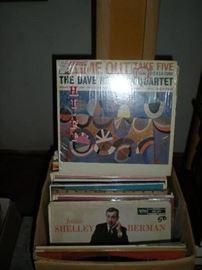 Vintage records.