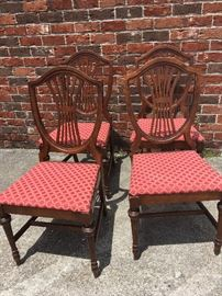 4 Duncan Phyfe Chairs