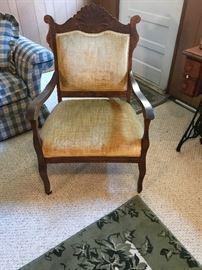 Late 19c Eastlake Style Chair