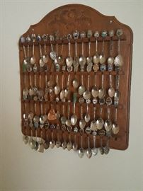 One of several Spoon Collection racks.