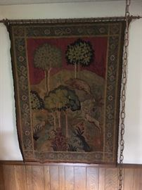 Antique Tapestry purchased in England