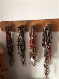 A ROOM full of jewelry: necklaces, watches, bracelets, earrings... and so much more!