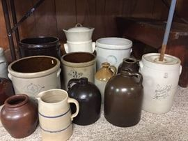 antique crocks