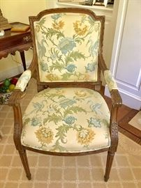 Custom made arm chair (front)