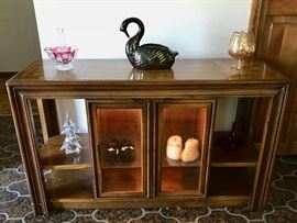 Lighted Curio Sideboard