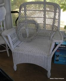 TWO matching Wicker Chairs