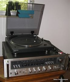 Kenwood KR9600 receiver with turntable