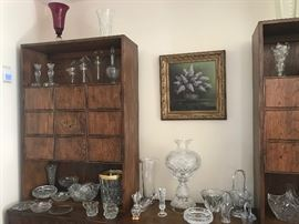 Waterford pieces, Glass and Crystal