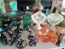 Fenton carnival glass