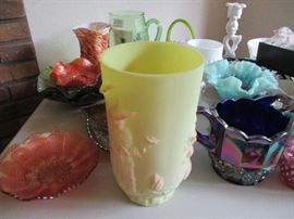 Carnival, Burmese and colored fenton