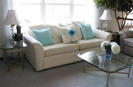 off white sleeper sofa  BUY IT NOW  $ 125.00