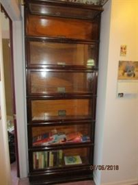 Globe Wernicke stacking barrister bookcase
