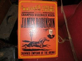Original James Robinson, W.W. Cole's Great Shows.