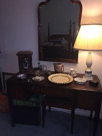 vanity, clocks, and more