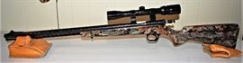 Camo Knight 50cal Black Powder w/3x9x32 Bushnell Buckhorn Scope