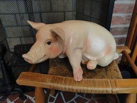Gotta love the pig!