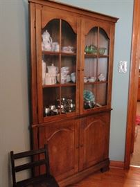 Such a lovely Corner Cabinet.