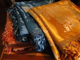 Absolutely gorgeous Silk Throws