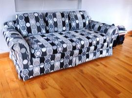 Black/Grey/White Modern Dot Sofa