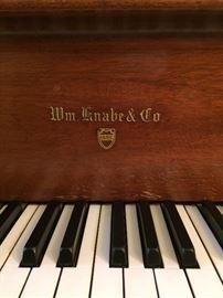 1913 Knabe Grand Piano