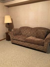 Upholstered Sofa  - 2 cushion