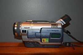 Sony Handicam Video Camera.