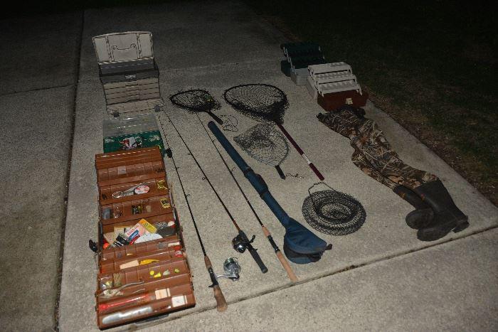 A great assortment of fishing equipment!