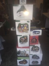 Dept. 56 collectibles. Many are rare.